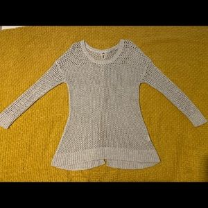 Lucky Brand Grey Sweater
